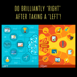 "Featured image of article ""Do brilliantly 'right' after taking a 'left'!"